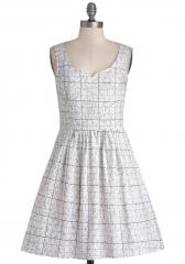 It Takes Sudoku Dress at ModCloth