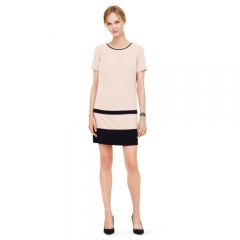 Iva Blocked Dress at Club Monaco