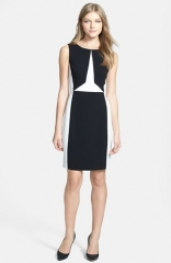 Ivanka Trump Colorblock Sheath Dress at Nordstrom