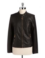 Ivanka Trump Leather Jacket at Lord & Taylor