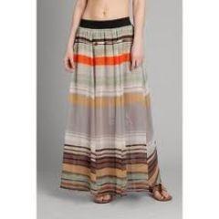 Izia Stripe Maxi Skirt at Guess