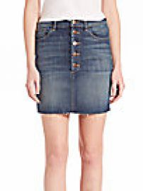 J BRAND - Rosalie Button Skirt at Saks Off 5th