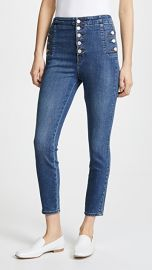 J Brand Natasha Sky High Cropped Skinny Jeans at Shopbop