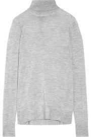J Crew   Cashmere turtleneck sweater at Net A Porter
