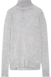 J Crew   Cashmere turtleneck sweater at Net A Porter