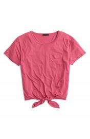 J Crew Knotted Pocket Tee at Nordstrom
