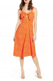 J O A  Ditsy Print Dress   Nordstrom at Nordstrom
