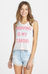 JC Fits and39Shopping Is My Cardioand39 Tank at Nordstrom