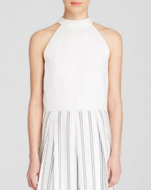 JOA Top - Tie Back Crop at Bloomingdales