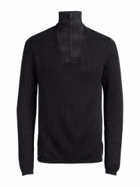 Jack Jones Jorarnold Half Zip High Neck Sweater at Lord and Taylor