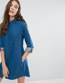 Jack Wills Maggie Chambray Shirt Dress at asos com at Asos