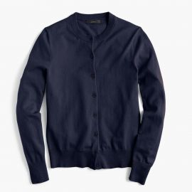 Jackie Cardigan in Navy at J. Crew