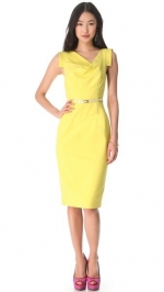 Jackie O Dress by Black Halo in Yellow at Shopbop
