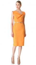 Jackie O dress by Black Halo in orange at Shopbop