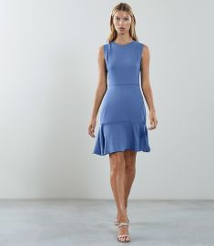 Jackie Sleeveless Fit and Flare Dress  at Reiss