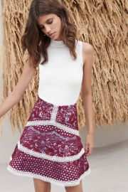 \\\'Jackson\\\' Top and \\\'Novalie\\\' Skirt  at Alexis