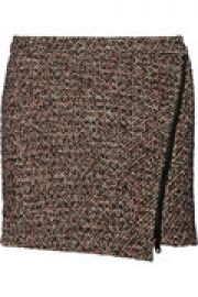 Jackson tweed mini skirt at The Outnet