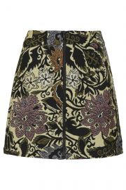 Jacquard Aline Skirt at Topshop