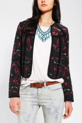 Jacquard Cardigan by Ecote at Urban Outfitters