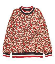 Jacquard Patterned Sweatshirt at H&M