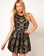 Jacquard dress at ASOS at Asos