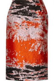 Jacquard midi skirt at The Outnet