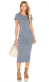 James Perse Classic Skinny Dress in North from Revolve com at Revolve