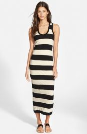 James Perse and39Bar Stripeand39 Tank Dress at Nordstrom