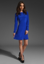 Janes blue dress by Tibi at Revolve