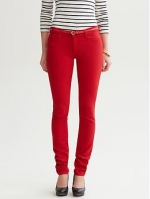 Janes red jeans at Banana Republic