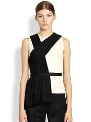 Jason Wu - Pleated Drape Shell at Saks Fifth Avenue