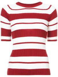 Jason Wu Striped Knitted Top at Farfetch