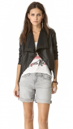 Jasper draped jacket by BB Dakota at Shopbop