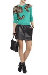 Jaxin Leopard Sweater at Bcbgmaxazria