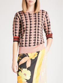 Jayan wool-blend sweater by Dries Van Noten at Selfridges