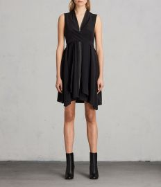 Jayda Silk Dress at All Saints
