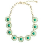 Jcrew Crystal Circle Necklace at J. Crew