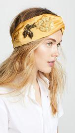 Jennifer Behr Rose Turban Headband at Shopbop