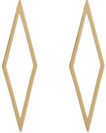 Jennifer Fisher Hollow Diamond Ignite Drop Earrings at Barneys