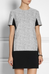 Jersey Tweed Dress by Richard Nicoll at Net A Porter