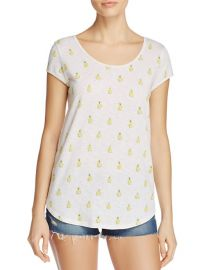 Jeslyn Pineapple-Print Tee at Bloomingdales