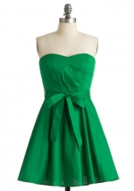 Jess Days green dress on New Girl at Modcloth