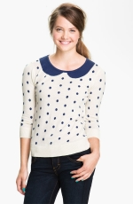 Jess Days polka dot sweater at Nordstrom