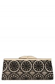Jessica McClintock  Sloan  Floral Lace Clutch at Nordstrom