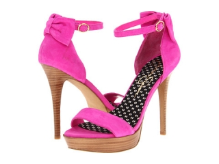 Jessica Simpson Bowie Hot Pink Kid Suede at 6pm