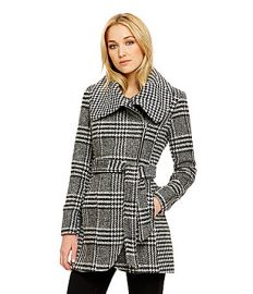 Jessica Simpson Houndstooth Coat at Dillards