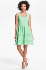 Jessica Simpson basket weave dress at Nordstrom at Nordstrom