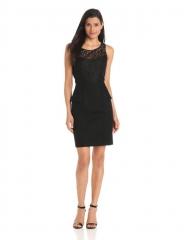 Jessica Simpson black peplum dress at Amazon