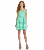 Jess's green dress at Dillards at Dillards