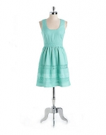 Jess's mint green dress on sale at Lord and Taylor at Lord & Taylor